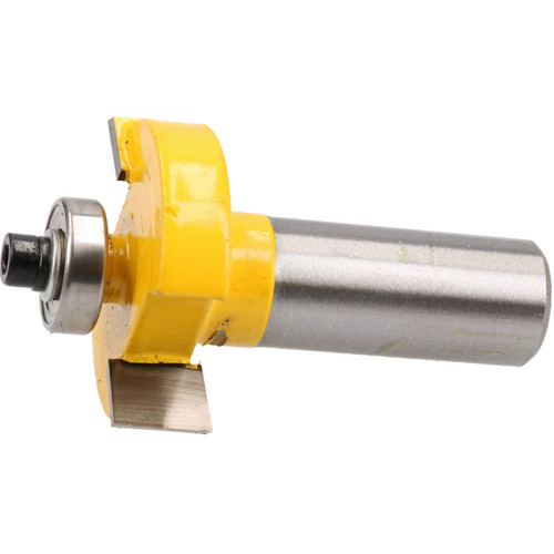 "TCT T Slot Cutter Slotting Rabbeting Bearing Guided Router Bit 1/2"" Shank"