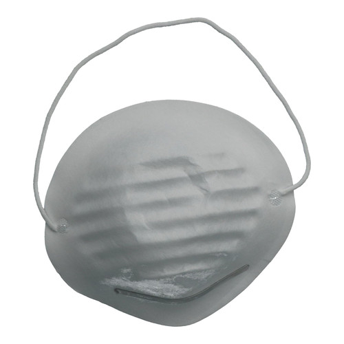 50pc Nuisance Dust Masks With Nose Adjustment and Elasticated Straps