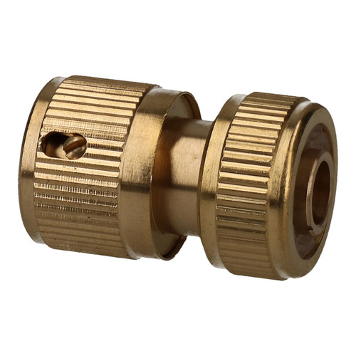 "Brass Garden Hose Quick Connector 1/2"" Female Pipe Built in Auto water Stop"