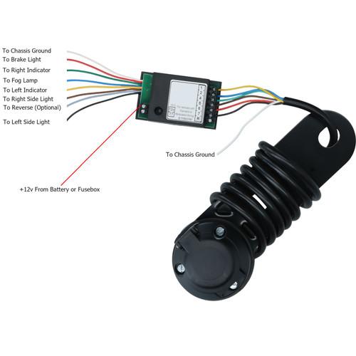 Towbar Towing Electrics Trailer Socket EASY WIRING KIT Modern Canbus Cars