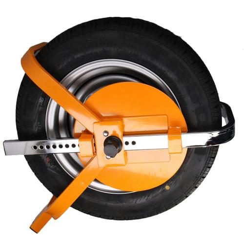 "Wheel Clamp Car Trailer Caravan Steel Security Lock 13"" 14"" 15"" 16"" 17"""