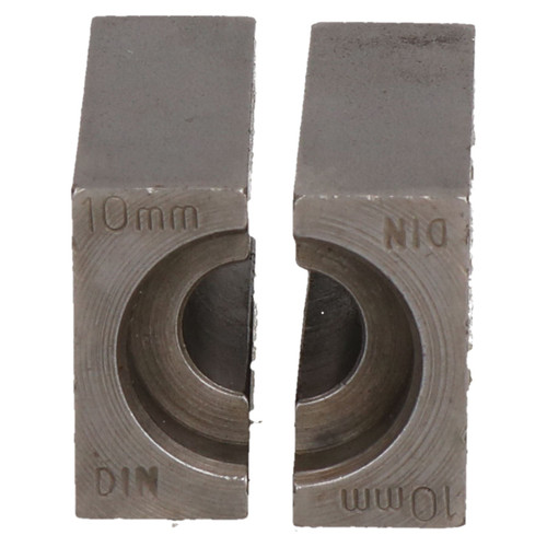 10mm DIN Brake Pipe Flaring Bench Flare Tool Split Die Clamp Single Double