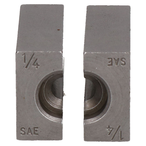 "1/4"" SAE Brake Pipe Flaring Bench Flare Tool Split Die Clamp Single Double"