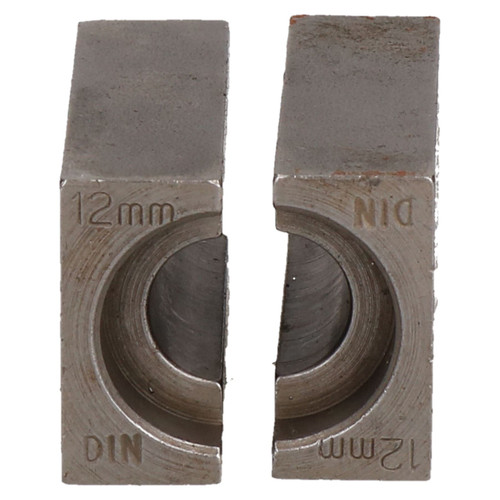12mm DIN Brake Pipe Flaring Bench Flare Tool Split Die Clamp Single Double