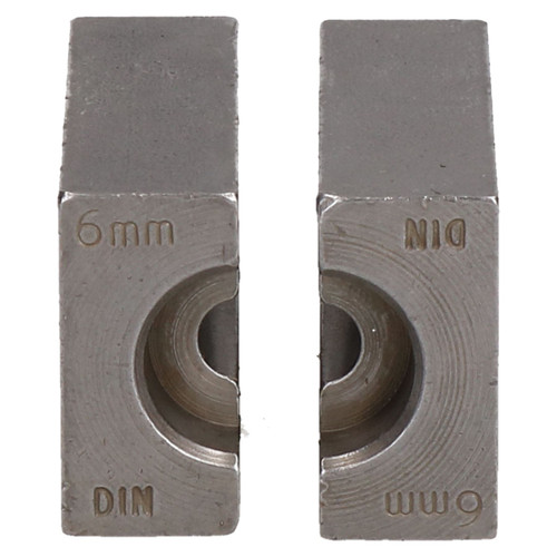 6mm DIN Brake Pipe Flaring Bench Flare Tool Split Die Clamp Single Double