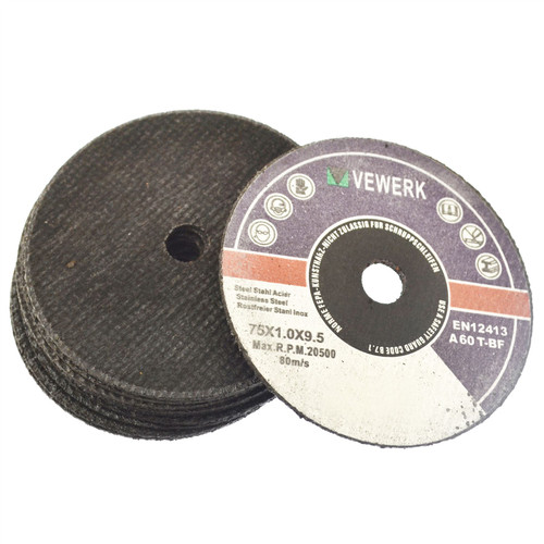 "3"" Cutting Grinding Discs for Air Cut-off Tool Grinder Cutoff 10 PACK 75mm AT844"