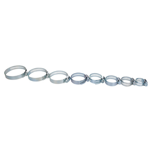 """Assorted Hose Clamp Jubilee Clamps Clips 1"""" – 2-3/4"""" 25mm – 70mm 34pc Set"""