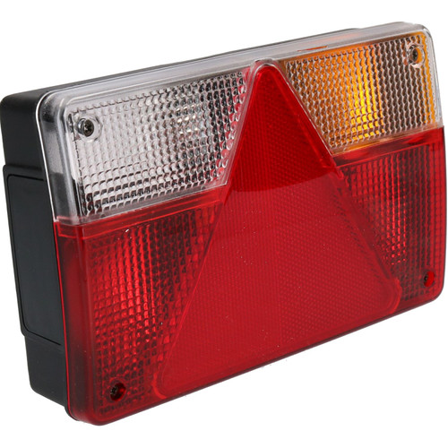 Trailer Caravan Right Light Rear Lamp Reverse & AJBA 6 PIN Plug Indespension