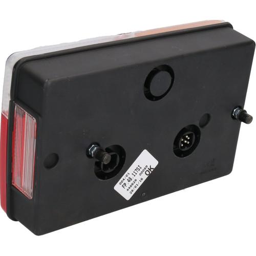 Trailer Caravan Left Light Replacement Lamp with AJBA 6 PIN Plug Indespension