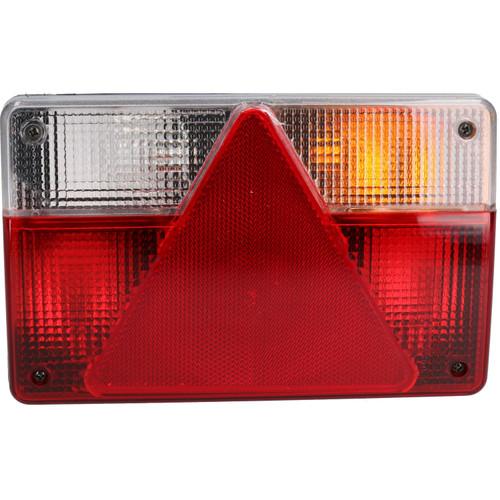 Pair Trailer Caravan Lights Replacement Lamps AJBA 6 PIN Plugs Indespension