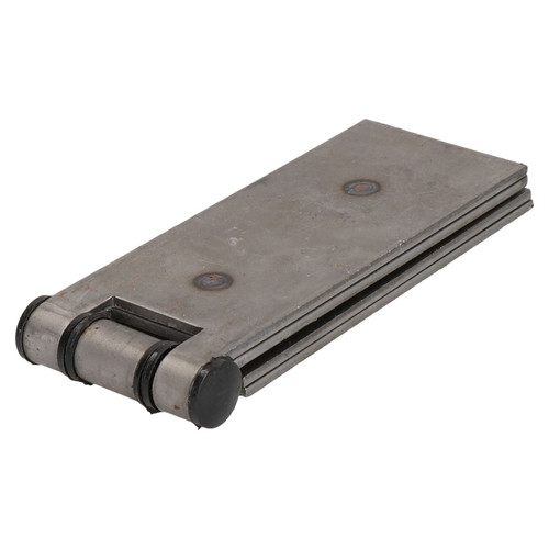 4 Pack Long Weld-on Butt Hinge Heavy Duty with Bushes 240x50mm Industrial