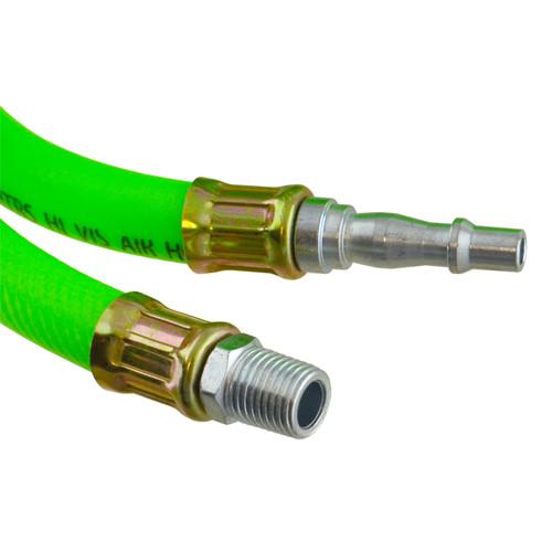 Airline Air Hose High Vis soft rubber 8mm 10m 33ft compressor hose BERGEN AT875