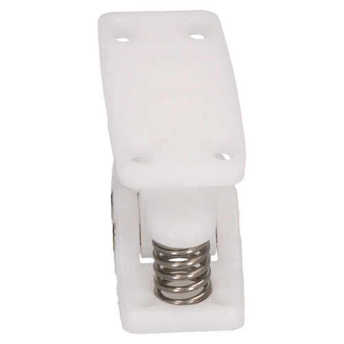 Claw Door Retainer Catch for Caravan Motorhomes White Nylon Industrial