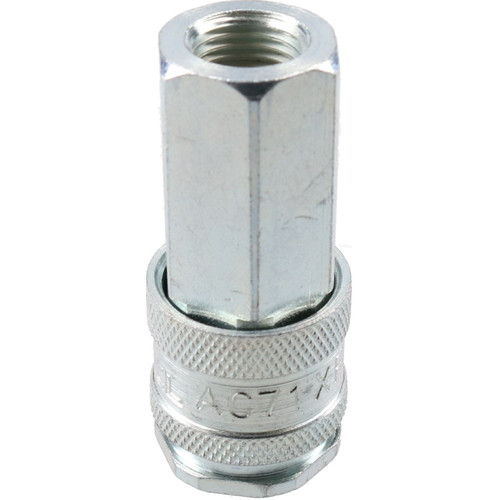 "PCL Whip Spray Leader Air Hose 0.6m x 10mm HA2132 & 1/4"" XF Coupler Fittings"