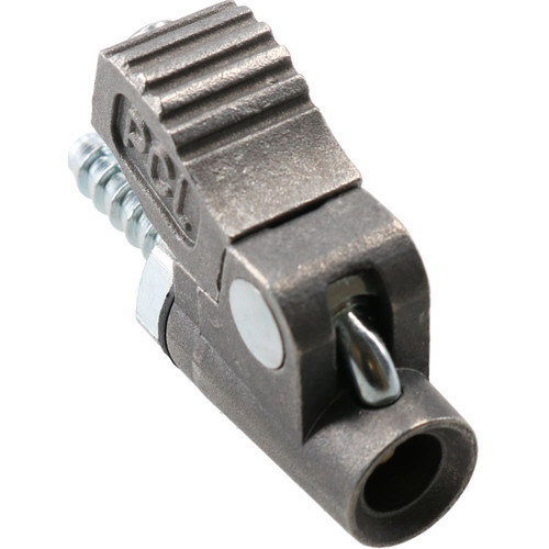 PCL Clip On Tyre Valve Air Inflator Connector Open End 4.75mm Hose Tail CO2E03