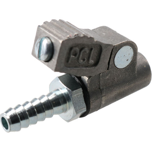 PCL Clip On Tyre Valve Air Inflator Connector Open & Closed End 6.35mm Hose Tail