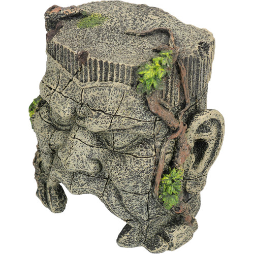 Aquatic Aquarium Ancient Tunnel Ruin Fish Tank Ornament 1x10x13cm
