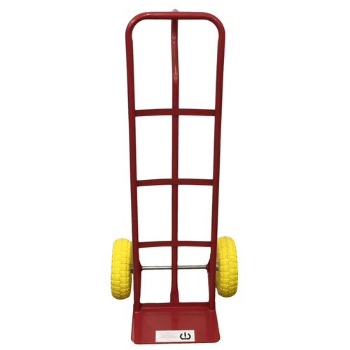 Sack Truck 600lb With Puncture Proof Foam Wheels Steel Hand Trolley Stacker