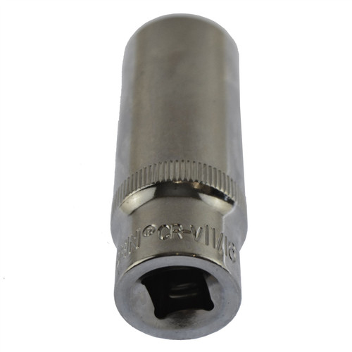 "11/16"" Imperial AF SAE Socket Double Deep 6 Sided Single Hex 3/8"" Drive"