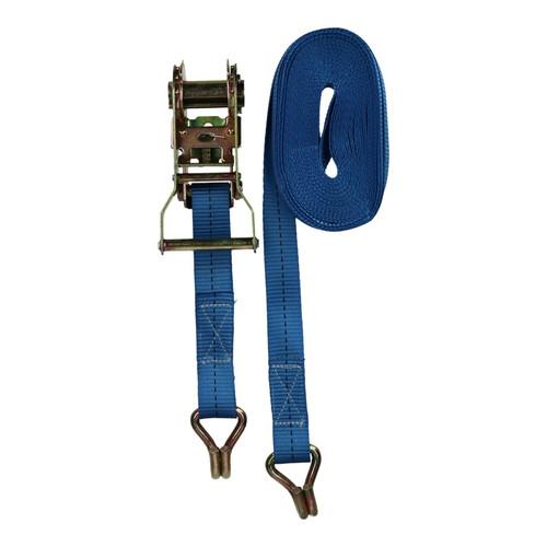 2 x 8 Metre x 25mm Heavy Duty ratchet Strap Tie Down Lashing Straps 0.4 Ton