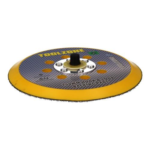 """6"""" Dual Action Hook + Loop DA Orbital Backing Pad Sander Sanding 2 Pack"""