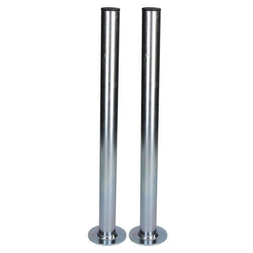 2 PACK 34mm Prop Drop Stand 460mm Long for Trailer Jockey Leg & Clamp