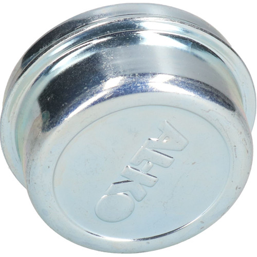 2 Pack 66mm Alko Steel Hub Cap Bearing Grease Dust Cover Trailer Caravan