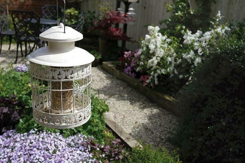 Deluxe Bird Feeder Seed Holder Hanging Feeding Station For Wild Birds