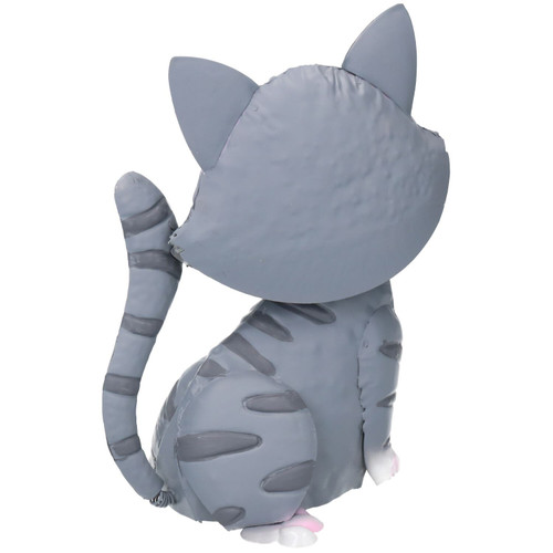 Tilly the Tabby Cat Bobble Buddie Metal Sculpture Indoor/Outdoor Ornament