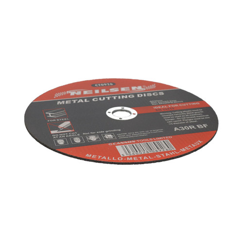 "9"" / 230mm Metal Steel Cutting Discs For 9"" Angle Grinders 230mm x 3.2mm 5pc"