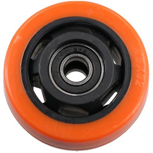 """3"""" Fixed + Swivel PVC Trolley Castor Wheel Roller Bearings 100kg Load Each 8pc"""