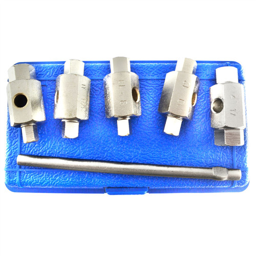 Drain Sump Plug Key Tool Set Axles Gear Box Car Repair Oil Change BERGEN AT969
