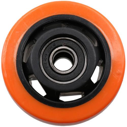 """3"""" Swivel PVC Trolley Castor Wheel Roller Bearings 100kg Load Per Wheel 4 Pack"""