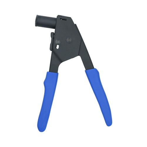 Plastic Pot Pop Rivet Hand Riveter Tool with 40 Rivets For Car Trims Carpets Seats