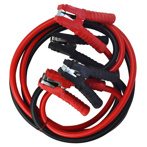 AB Tools-Toolzone 200 amp Jump Leads 2.5m Car Van Jump Leads Battery Jumper Booster Cables
