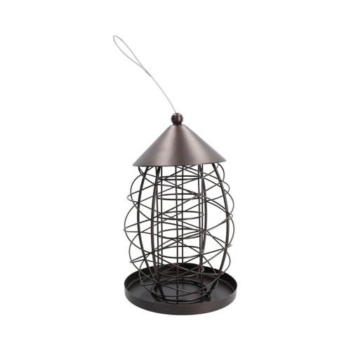 2PK Lantern Bird Feeder FatBall Holder Hanging Feeding Station Wild Birds