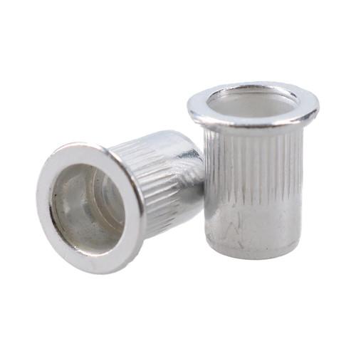 M8 8mm Alu Nut Serts Riveting Nuts Rivet Threaded Inserts Blindnut Rivnut 50pc
