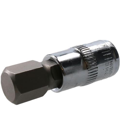 """1/2"""" Hex Key Socket / Bit 3/8"""" Drive Imperial AF SAE 6 Sided Allen Key 48mm Cr-V"""