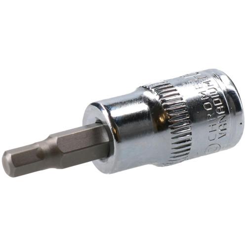 """3/16"""" Hex Key Socket / Bit 3/8"""" Drive Imperial AF SAE 6 Sided Allen Key 48mm Cr-V"""