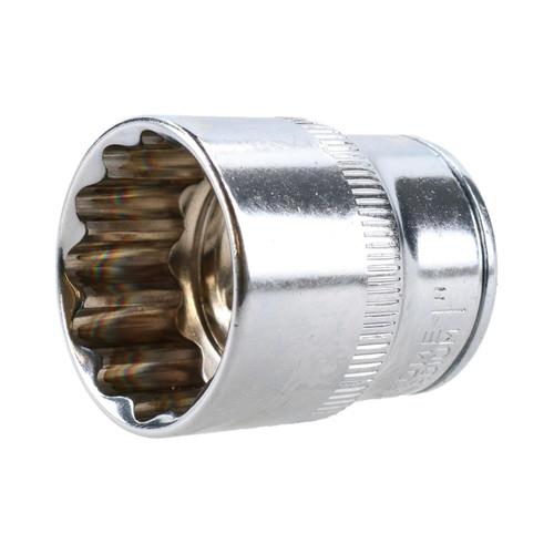"36mm 1//2/"" Drive Double Deep Metric Impacted Impact Socket Bi-hex 12 Sided"