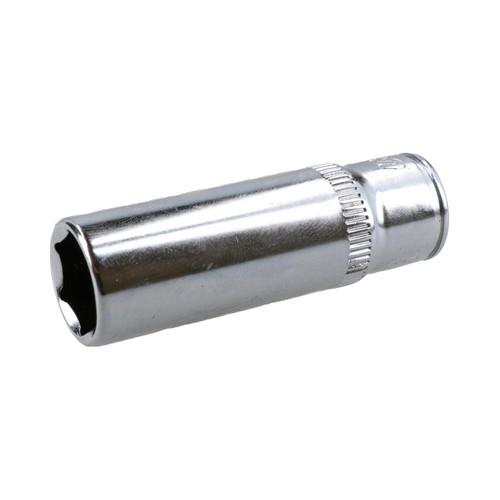 "7/16"" Deep SAE Socket 1/4"" Drive 48mm Length 6 Point Chrome Vanadium Steel"