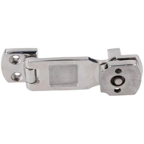 2 Pack Hasp & Staple 316 Stainless Steel Cast Locker Cabin Hatch Swivel Lock