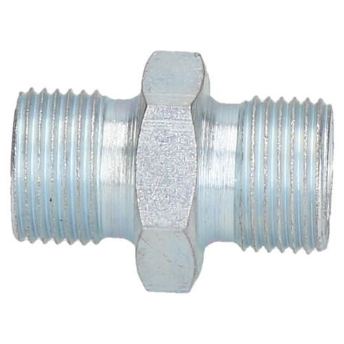 """3/8"""" to 3/8"""" BSP Air Line Hose Union Connector Male to Male Fitting Joiner x 2"""