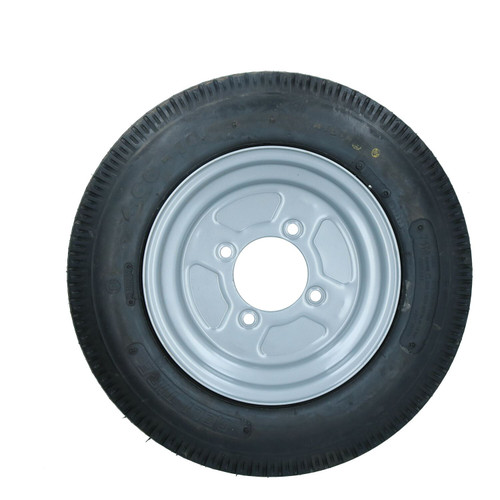 """10"""" Trailer Wheel & Tyre 4.00-10 with 115mm PCD for Erde, Daxara 6 PLY"""
