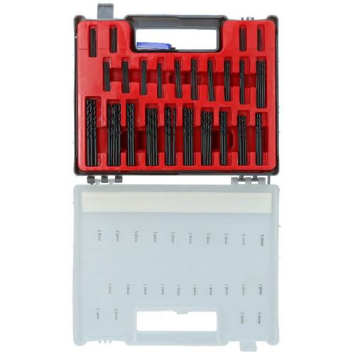 150pc Precision HSS Split Point Twist Mini Drill Bit Set Metric Size 0.4 - 3.2mm