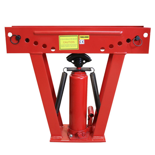 "12 Ton Hydraulic Pipe Bender 1/2"" - 2"" Gas Air Pipe Bending Tool 180° Portable"