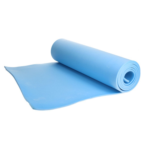 Lightweight Foam Camping Roll / Yoga / Exercise Mat Sleeping Festival Pilate Blue