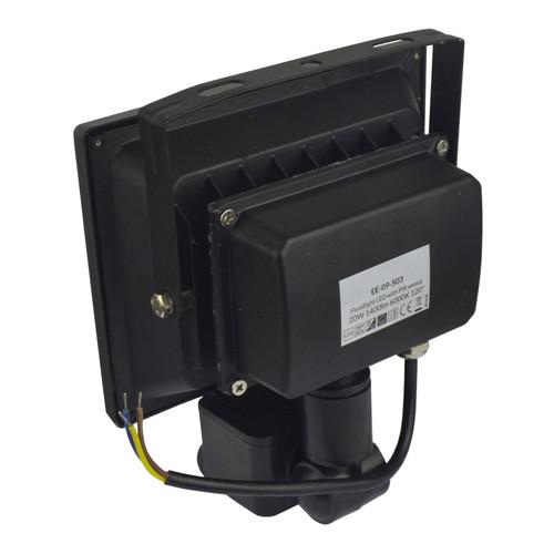 LED 20w Floodlight PIR Security 1400 Lumen 6000k Day White Waterproof E03