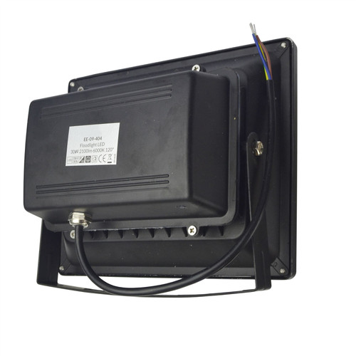 LED 30w Floodlight Security 1400 Lumen 6000k Day White Waterproof High Power E16