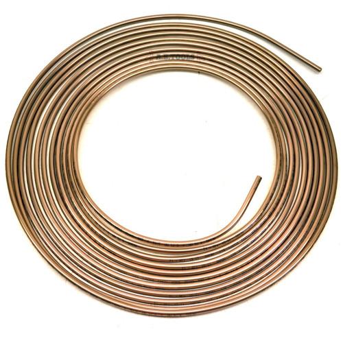 Brake Pipe Copper Nickel / Cunifier / Kunifier 7.62m Coil FL24